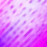Purple Pink Metallic Faux Foil Holographic Diagonal Stripes Stock Image