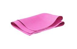 Purple pink napkin Stock Photo