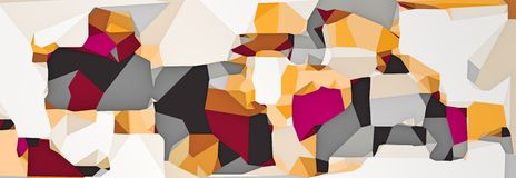 Purple pink orange and grey modern abstract background. In panorama Royalty Free Stock Photography