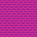Purple Pink Tribal Pattern Royalty Free Stock Photo