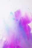 Purple pink watercolor texture Stock Photo