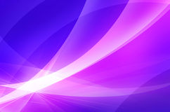 Purple and pink wave abstract background. An abstract  background with a feeling of movement  information Stock Photo