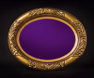 Purple plaque Royalty Free Stock Images