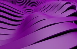 Purple plastic stripes background Stock Images