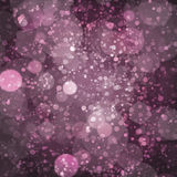 Purple, Plum Champagne Bokeh Pattern Design Royalty Free Stock Photography