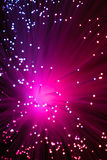 Purple points of light Royalty Free Stock Image