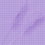 Purple Polka Dot Paper Royalty Free Stock Photography