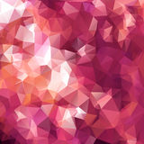Purple  polygon background Royalty Free Stock Photography