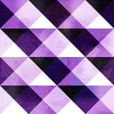Purple polygons abstract geometric background Stock Photos