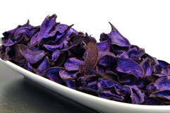 Purple potpourri Royalty Free Stock Photo