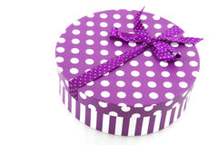 Purple present Royalty Free Stock Photography