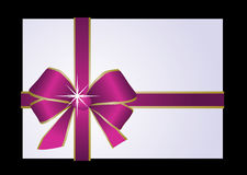 Purple present Stock Photography