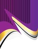 Purple Presentation. Royalty Free Stock Images