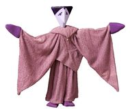 Purple puppet Royalty Free Stock Images