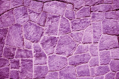 Purple / purpur brick wall (background, wallpaper, bricks) Stock Images