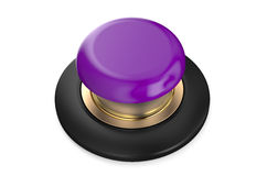 Purple push button Royalty Free Stock Photo