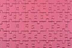 Purple puzzle background stock photos