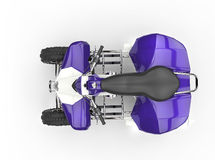 Purple Quad - Top View Stock Image