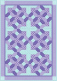 Purple Quilt Stock Photography