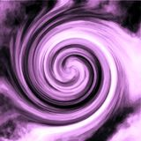 Purple Radial Swirl. Purple and white radial swirl with dark mix - swirled together in an artistic flowing and airy blended harmony royalty free stock photos