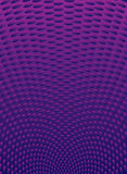 Purple radiate. Purple radiating background with oval shapes in perspective Royalty Free Stock Photo