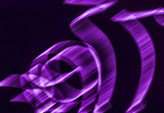 Purple rain. Abstract pink background against black Stock Images