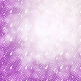 Purple Rain Background Stock Photos