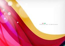 Purple rainbow swirl background Stock Photo