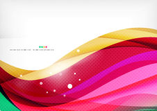 Purple rainbow swirl background Stock Photography