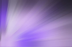 Purple ray background. A purple ray background radiated from left bottom Stock Images