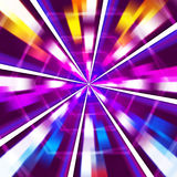 Purple Rays Background Means Sharp Beams And Hexagons Royalty Free Stock Images
