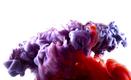 Purple red abstract art Royalty Free Stock Photography
