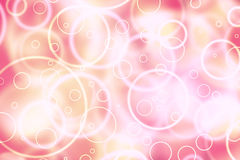 Purple red abstract circle shapes blurry illustration background Royalty Free Stock Image
