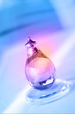 Purple, red, blue abstract colorful background. Alcohol lamp on a colorful  background Stock Photo