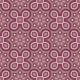 Purple red floral seamless pattern. Background with flower design elements. For wallpapers, textile and fabrics royalty free illustration