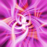 Purple and red psychedelic flo Royalty Free Stock Photo