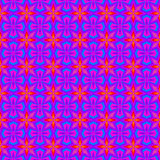 Purple Retro Wallpaper Pattern Stock Photo