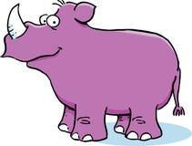Purple Rhinoceros Royalty Free Stock Image