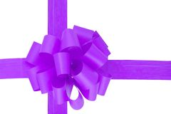 Purple Ribbon Royalty Free Stock Image