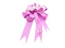 Purple ribbon Stock Image
