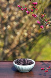 Purple rice Stock Photo