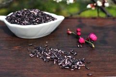 Purple rice Royalty Free Stock Image
