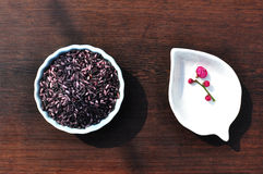 Purple rice Stock Image