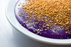 Purple rice cake Stock Photography
