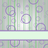 Purple Ring On The Gray Background Royalty Free Stock Photography
