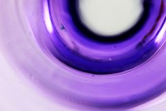 Purple rings. And abstract background Royalty Free Stock Images