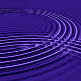 Purple ripples Royalty Free Stock Image