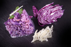 Purple Risotto Royalty Free Stock Photo
