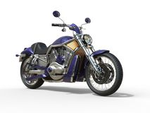 Purple Roadster Bike Stock Images