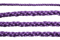 Purple rope. Royalty Free Stock Photography